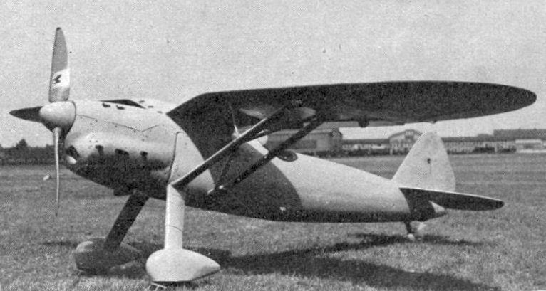 Немецкий истребитель Henschel Hs.121