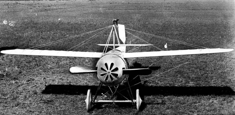 Итальянский истребитель Caproni Са.20