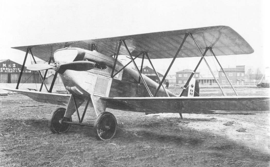 Итальянский истребитель Fiat CR.1