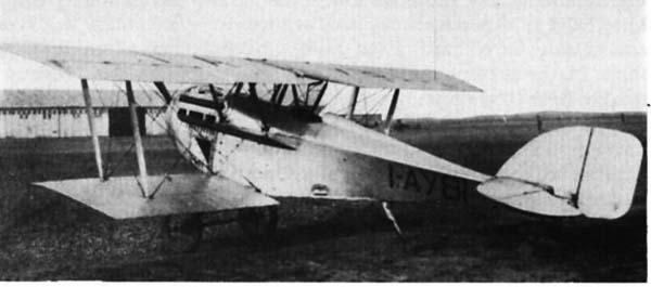 Итальянский истребитель Gabardini G.8