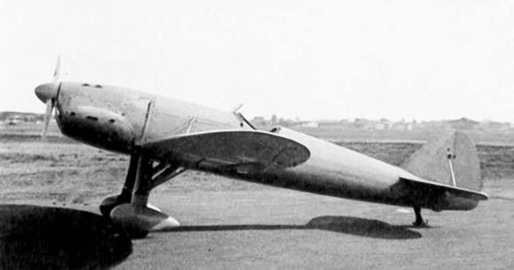 Немецкий истребитель Henschel Hs.125