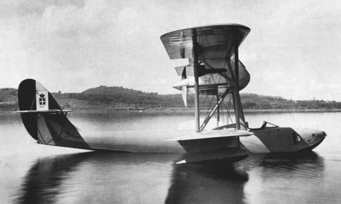 Итальянский гидроистребитель Macchi M.41
