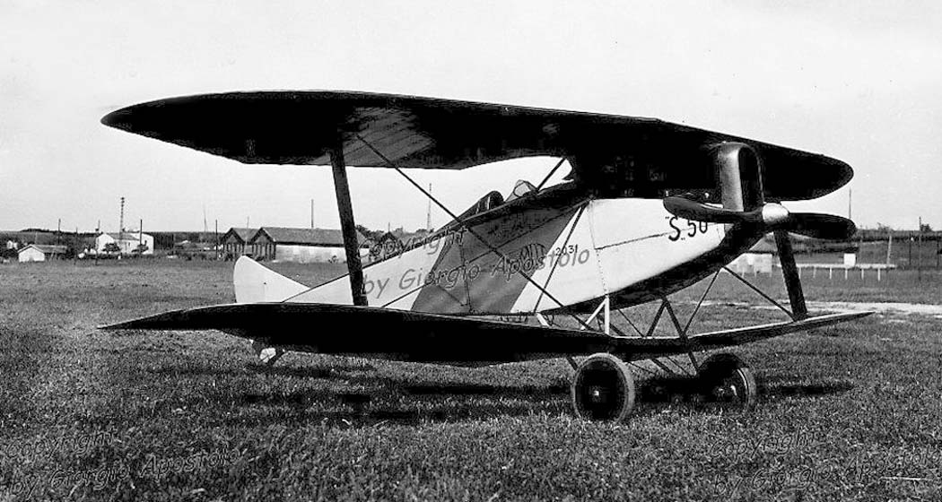 Итальянский истребитель Marchetti MVT