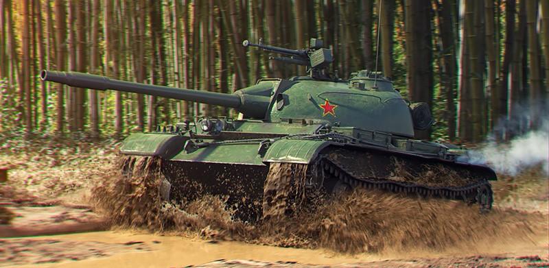 "Китайский лёгкий танк ""Туре 62"""
