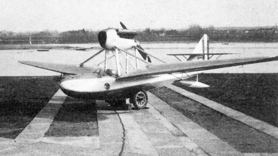 Итальянский гидроистребитель SIAI S.67