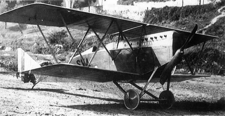 """Итальянский истребитель Ansaldo S.V.A.5 """"Primo"""""""
