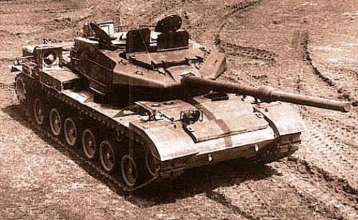 Китайский основной танк WZ-122-4