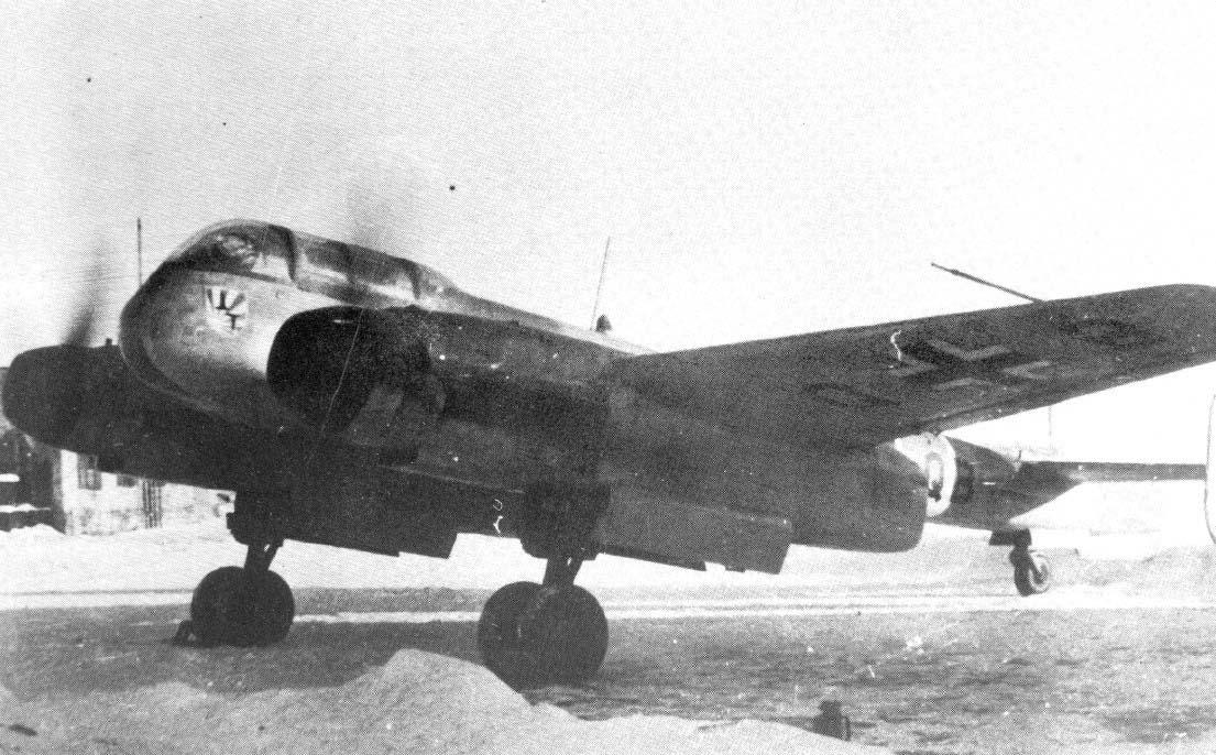 Немецкий истребитель Arado Ar 240 С