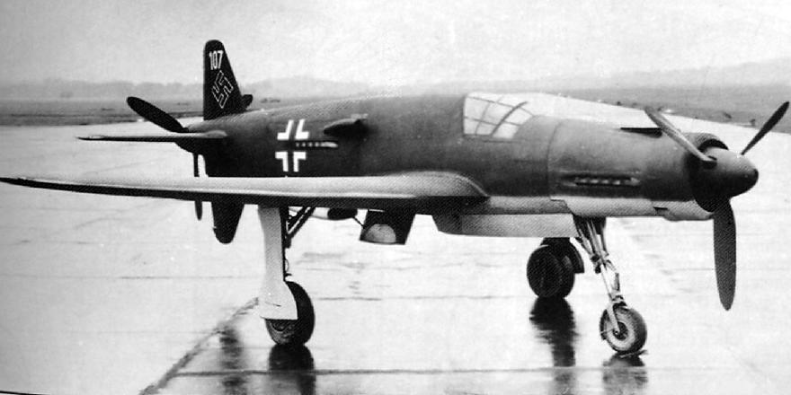 Немецкий истребитель Dornier Do 335 Pfeil