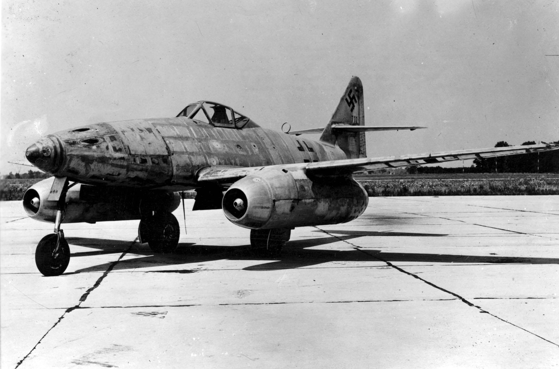 """Немецкий истребитель Messerschmitt Me 262 """"Schwalbe"""""""