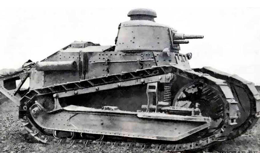 Легкий танк «Рено русский»