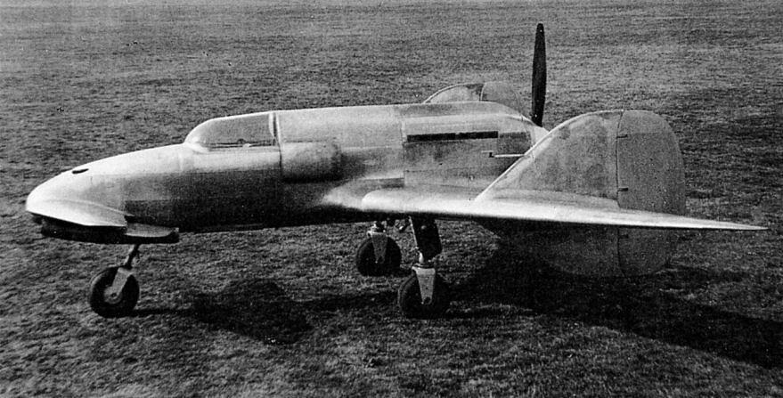 Итальянский истребитель S.A.I. S.S.4