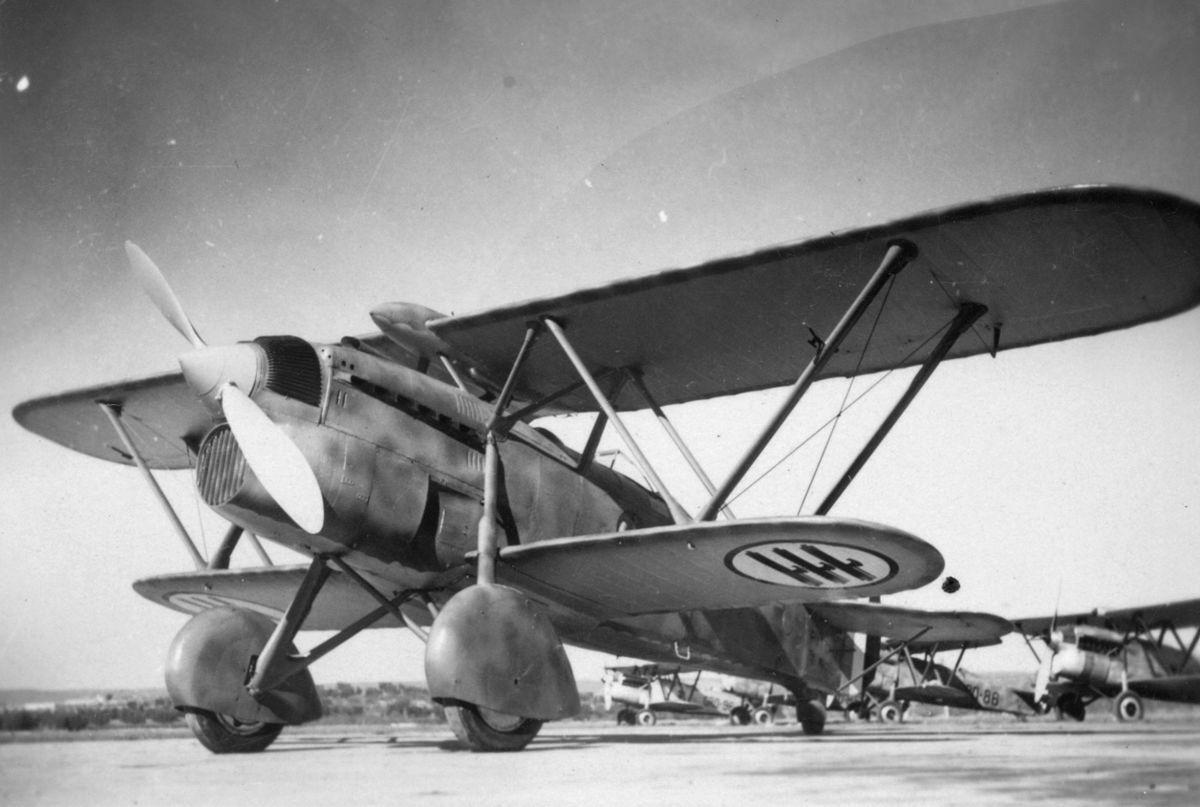 Итальянский истребитель Fiat CR.33