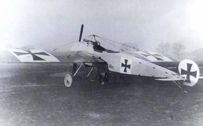 Германский истребитель Fokker E.I Eindecker