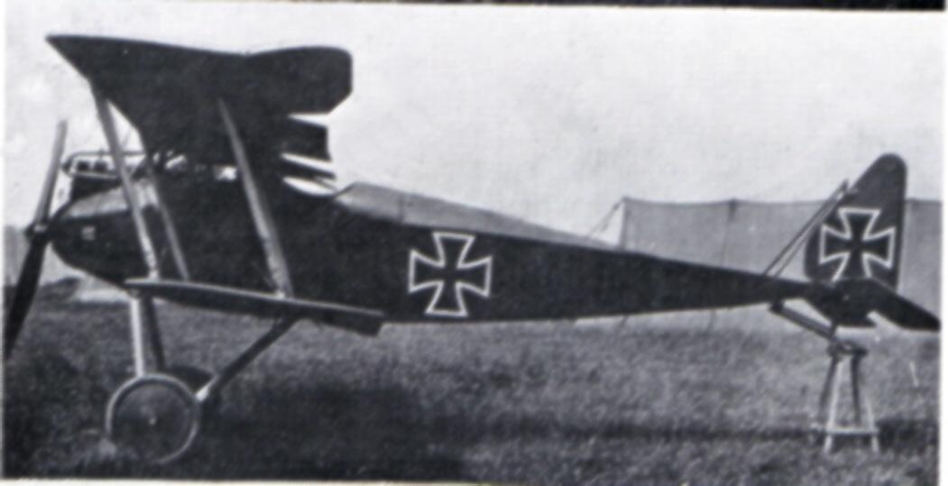 Германские истребители Halberstadt Doppeldecker