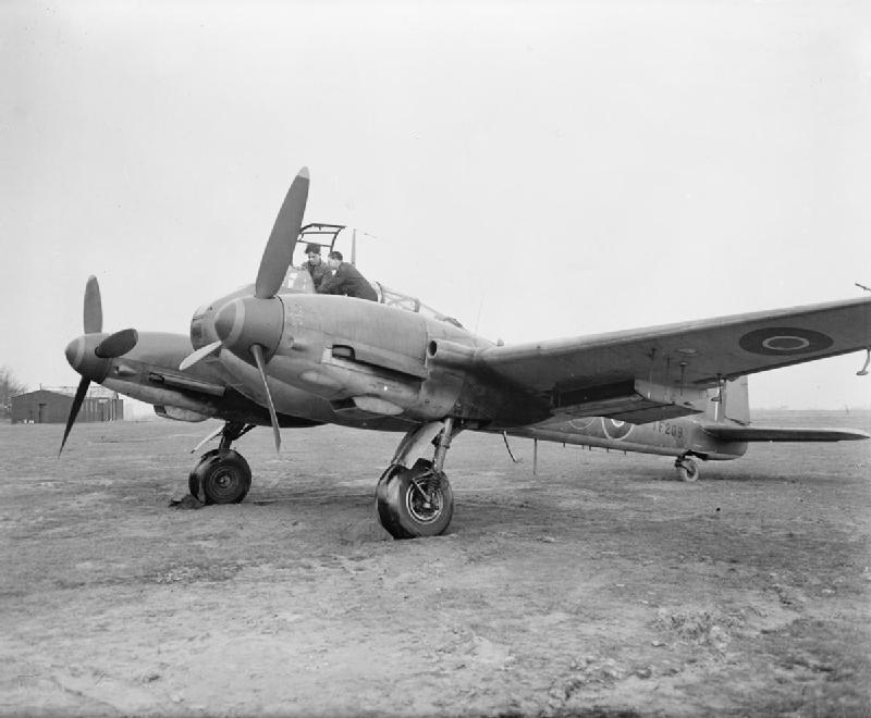 """Немецкий истребитель Messerschmitt Me 410 """"Hornisse"""""""