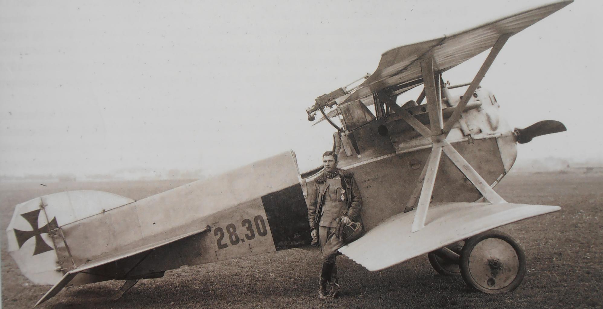 Германский истребитель Hansa-Brandenburg D.I
