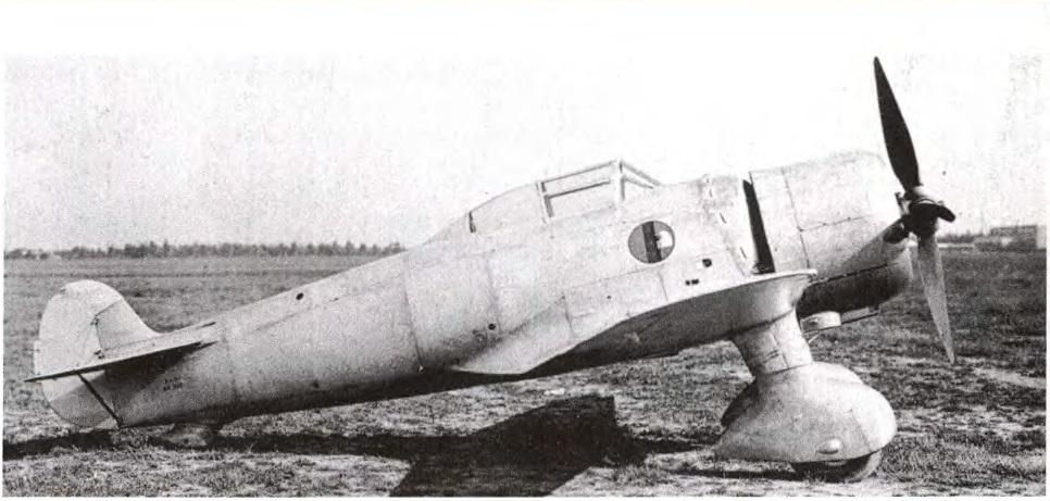 Итальянский истребитель I.M.A.M. Ro.51