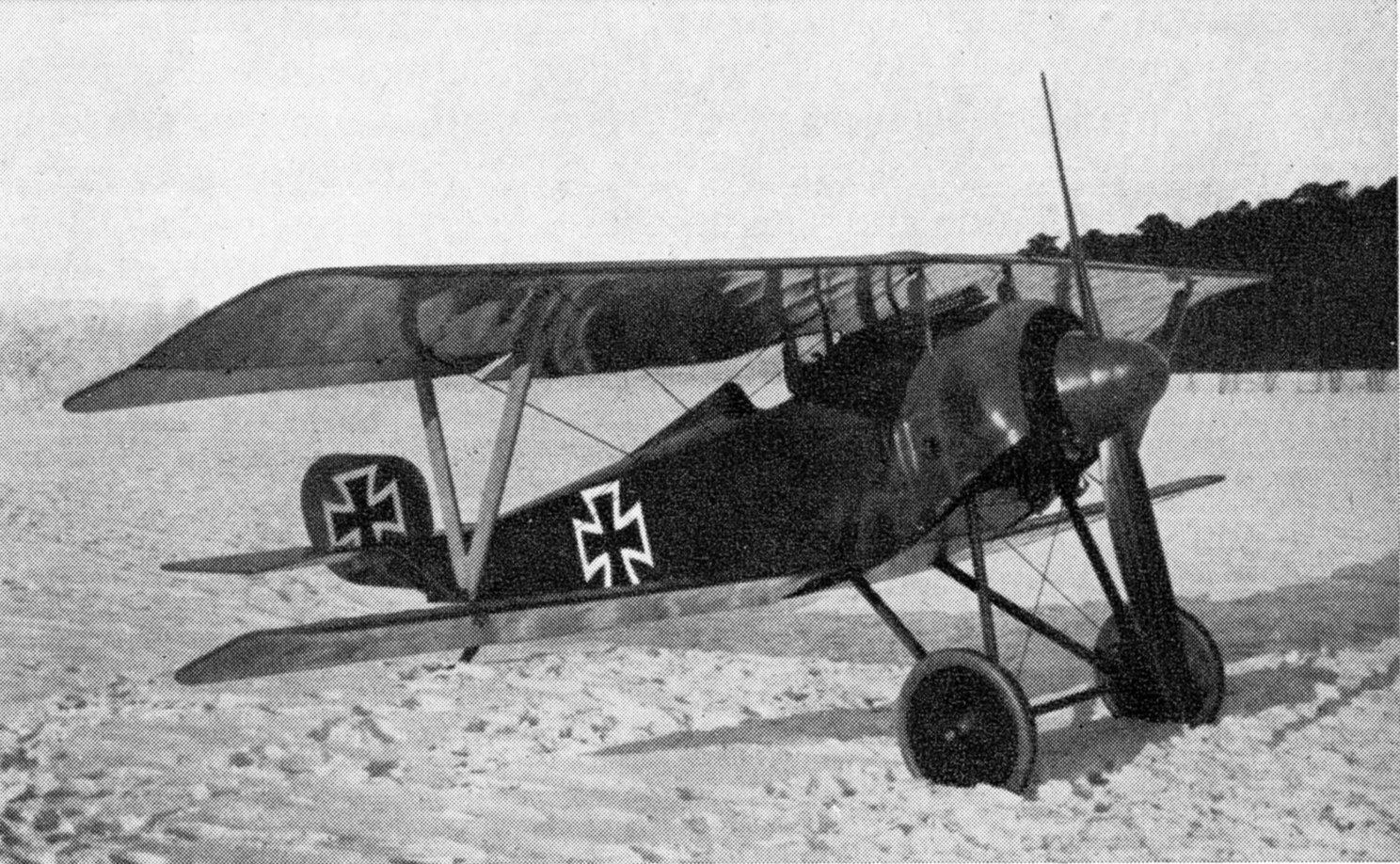 Германский истребитель Siemens-Schuckert Eindecker