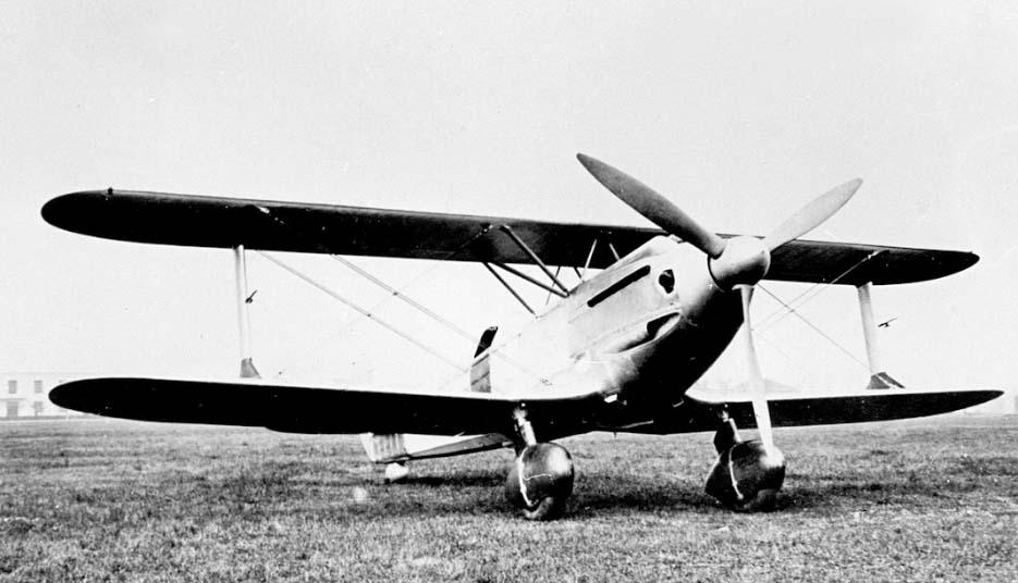 Итальянский истребитель Caproni Cа.165