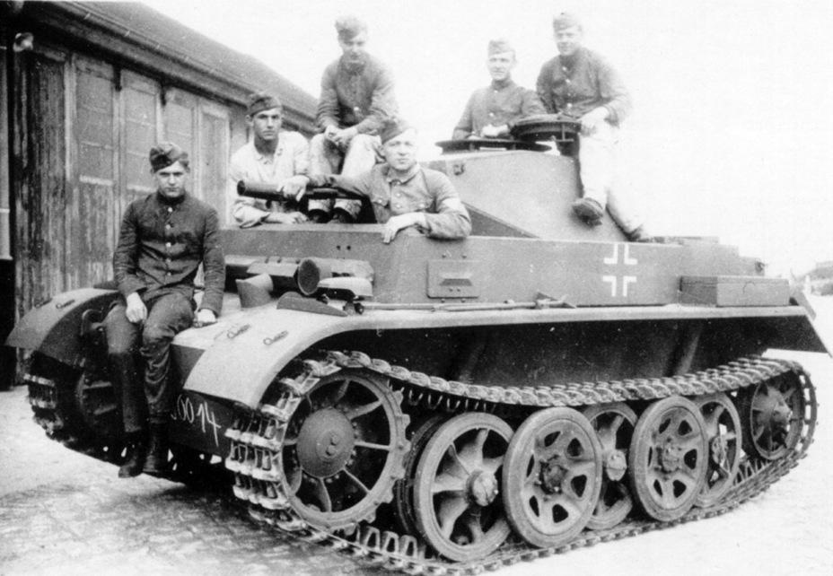 Лёгкий разведывательный танк Pz.Kpfw. II Ausf. G