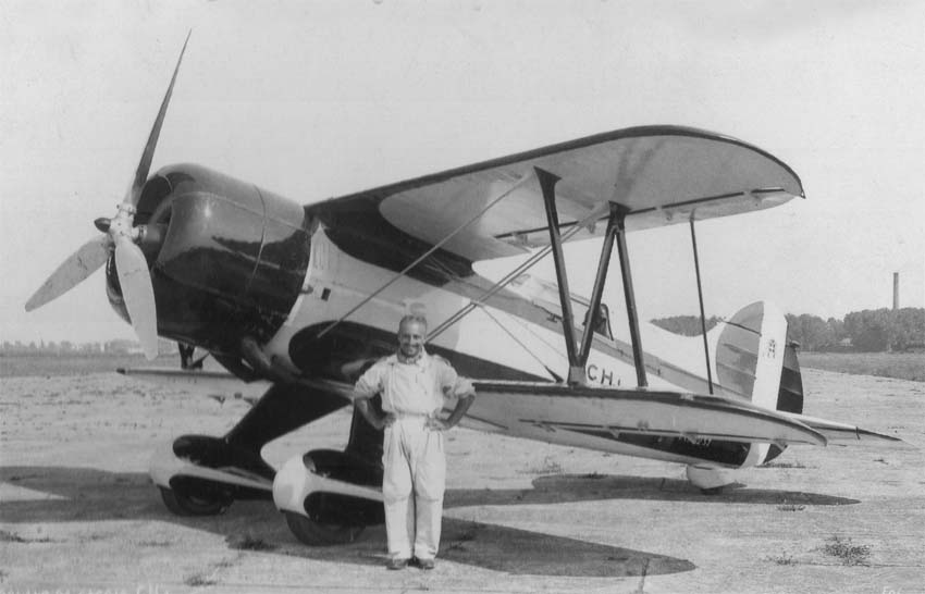 Итальянский истребитель Caproni CH.1