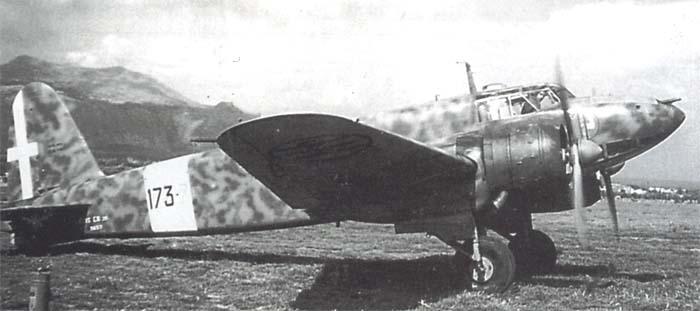 Итальянский истребитель-бомбардировщик Fiat CR.25