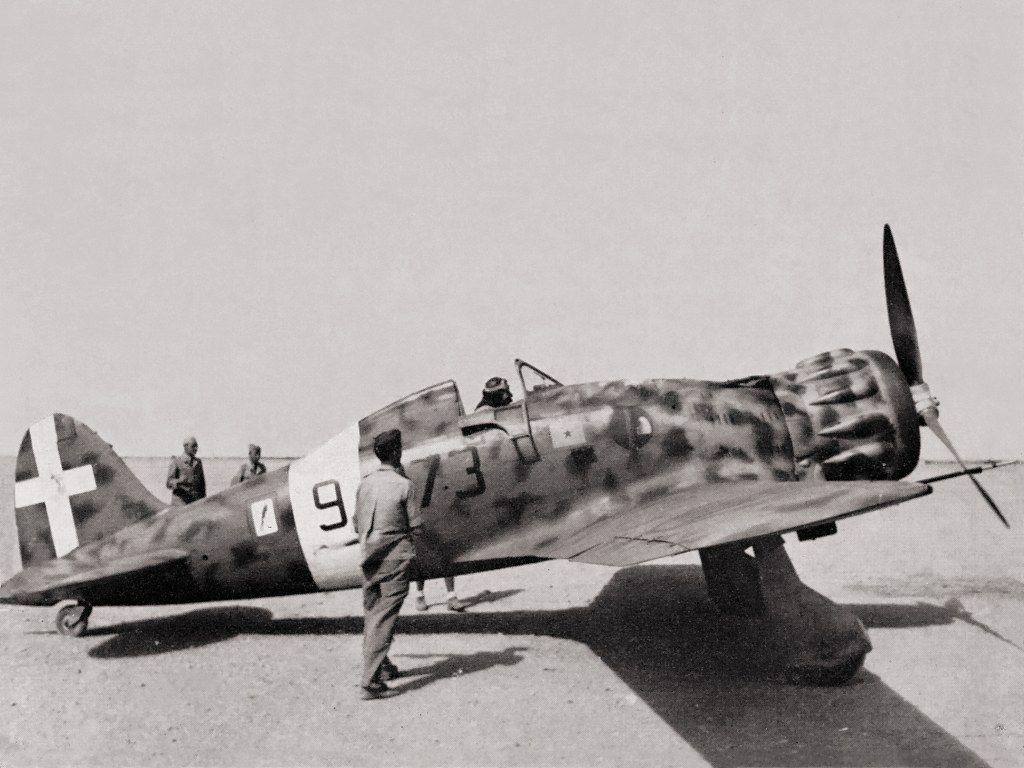 """Итальянский истребитель Macchi MС.200 """"Saetta"""""""