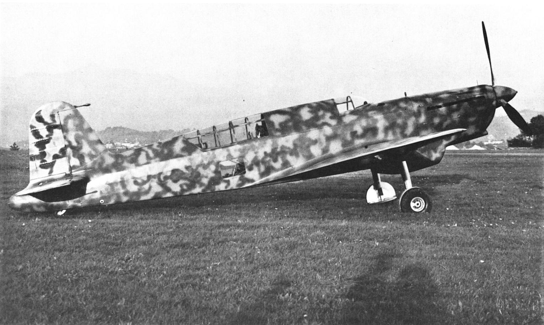 """Итальянский истребитель-бомбардировщик Caproni Са.335 """"Maestrale"""""""