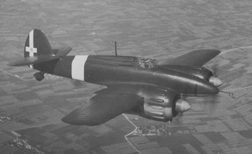 Итальянский истребитель I.M.A.M. Ro.57