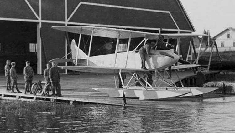 Германский истребитель Rumpler 6B