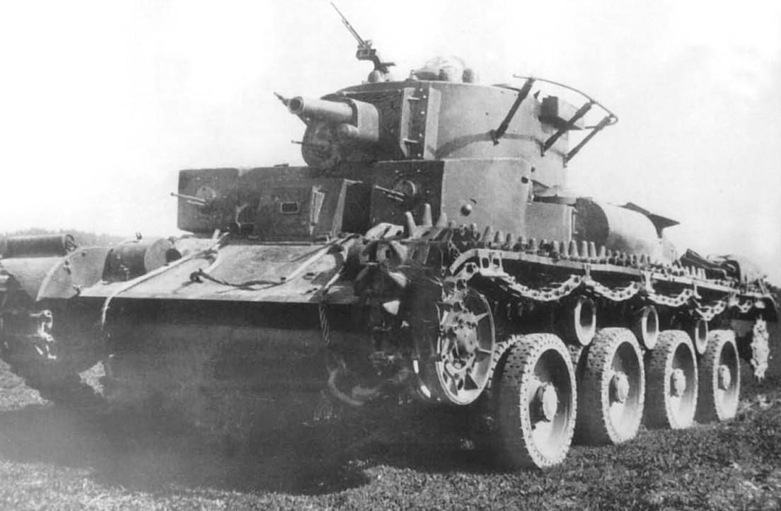 Колёсно-гусеничный танк Т-29