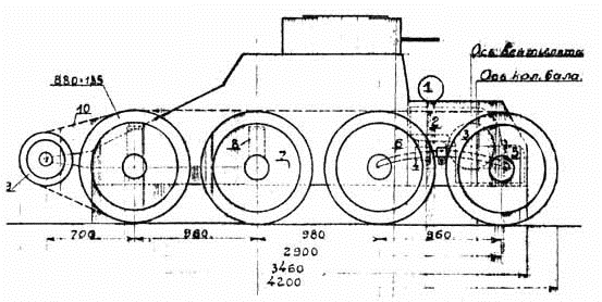 Колёсно-гусеничная танкетка Т-25