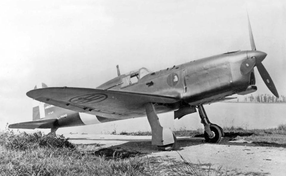 Итальянский истребитель S.A.I. S. S.207
