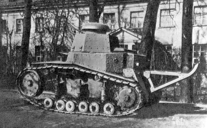 Лёгкий танк Т-16