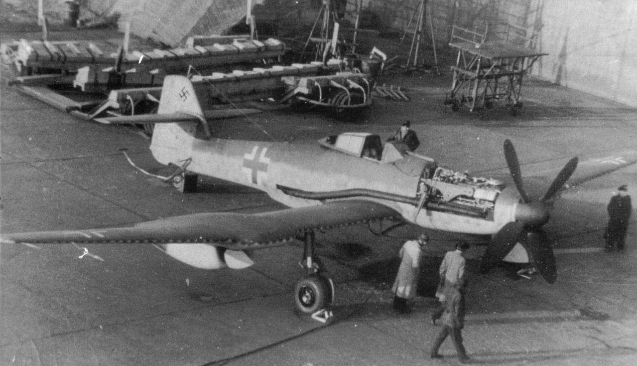 Немецкий истребитель Blohm und Voss BV 155