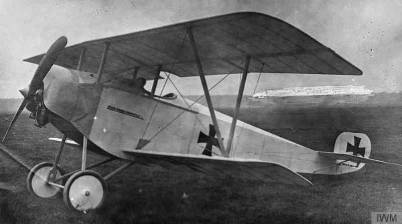 Германский истребитель Euler D.I