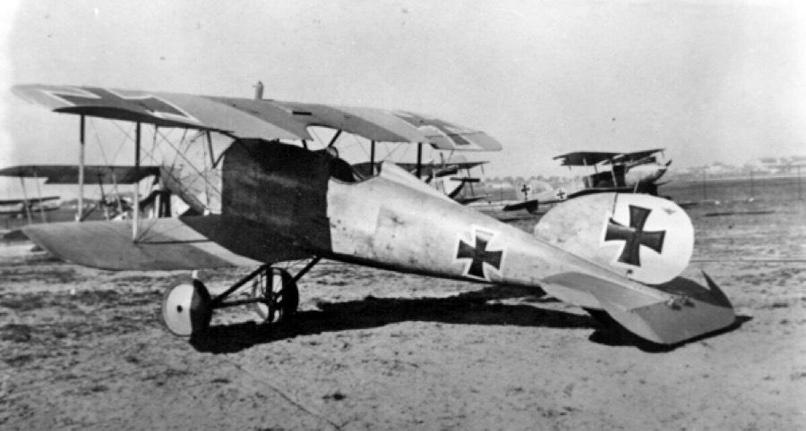 Германский истребитель Albatros D.IV