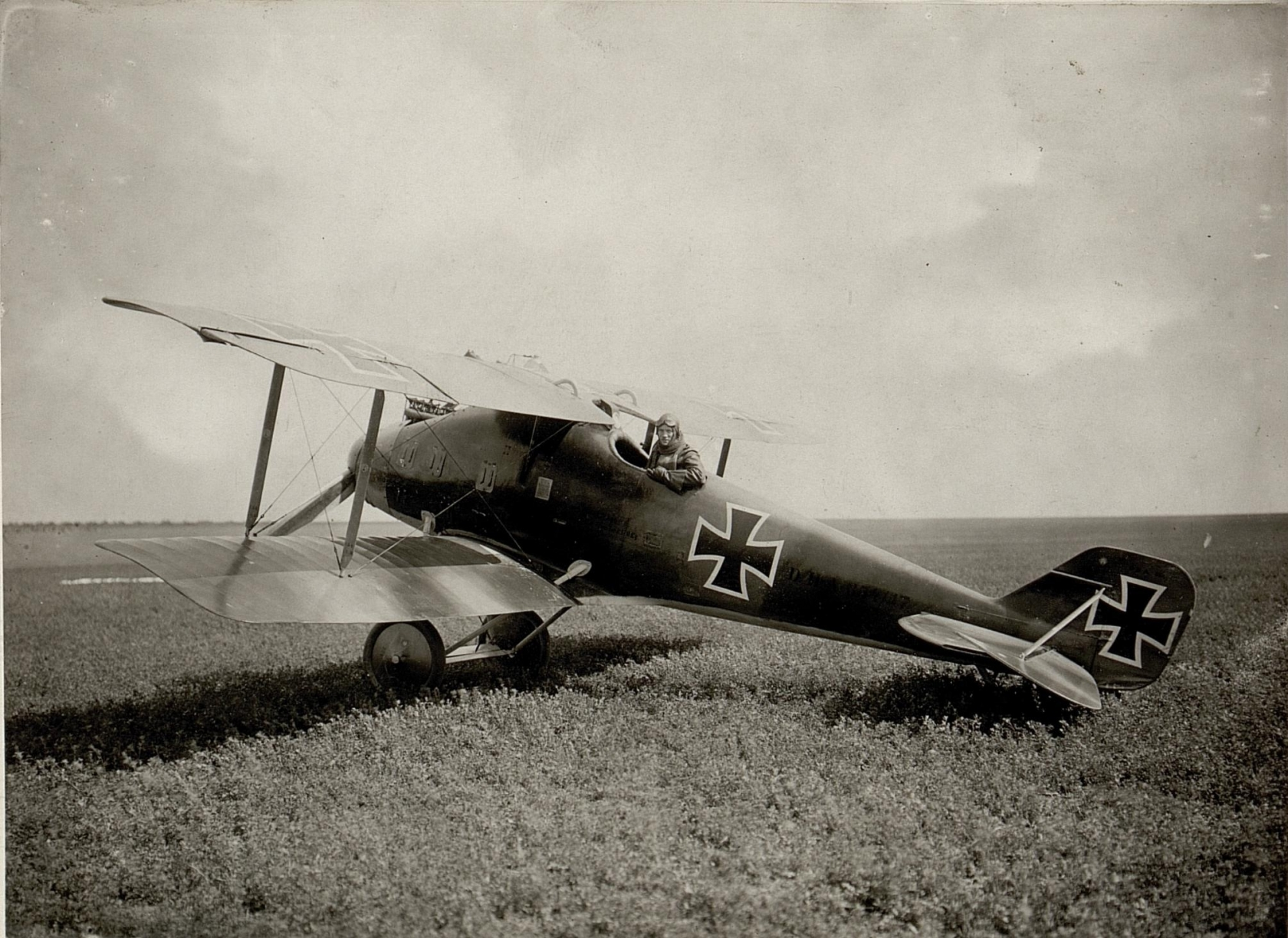 Германский истребитель LVG D.II