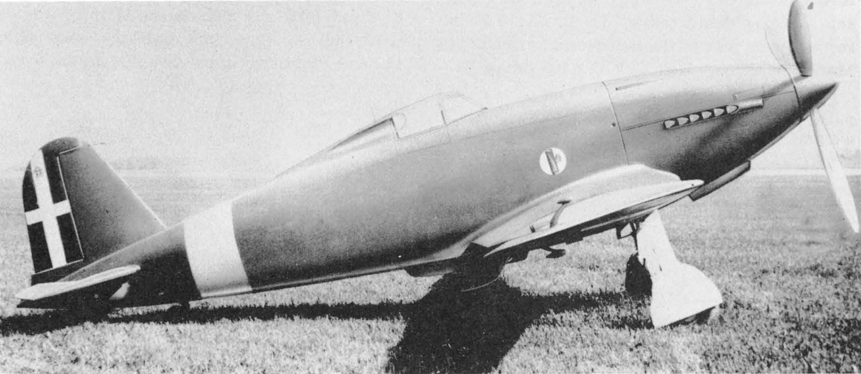 Итальянский истребитель Fiat G.50 V