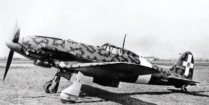 """Итальянский истребитель Macchi MС.205V """"Veltro"""""""
