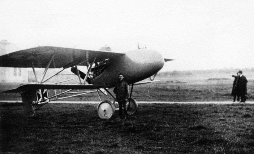 Германский истребитель Zeppelin V.I