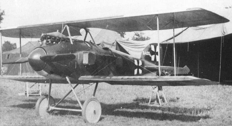 Германский истребитель Albatros D.I