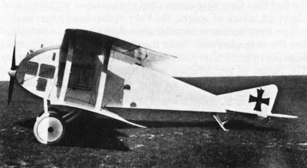 Германский истребитель Germania JM