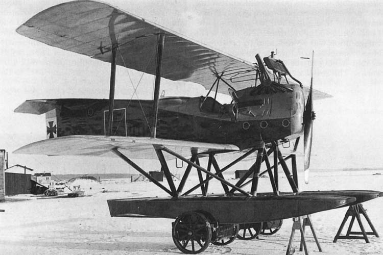 Германский истребитель Hansa-Brandenburg W.12