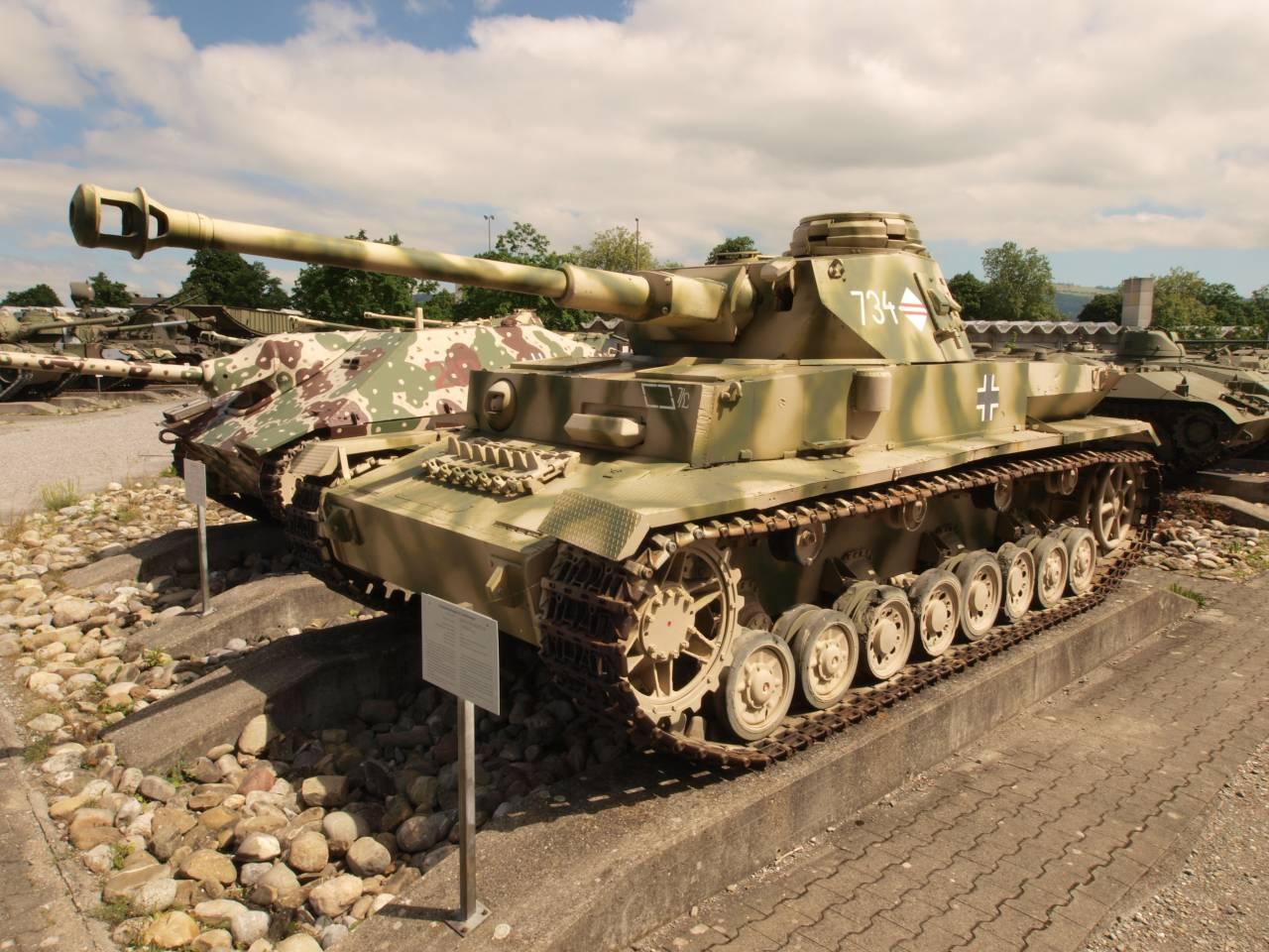 Немецкий средний танк Pz.Kpfw. IV