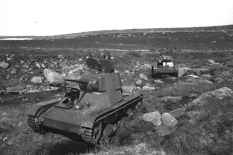 Советский лёгкий танк Т-26