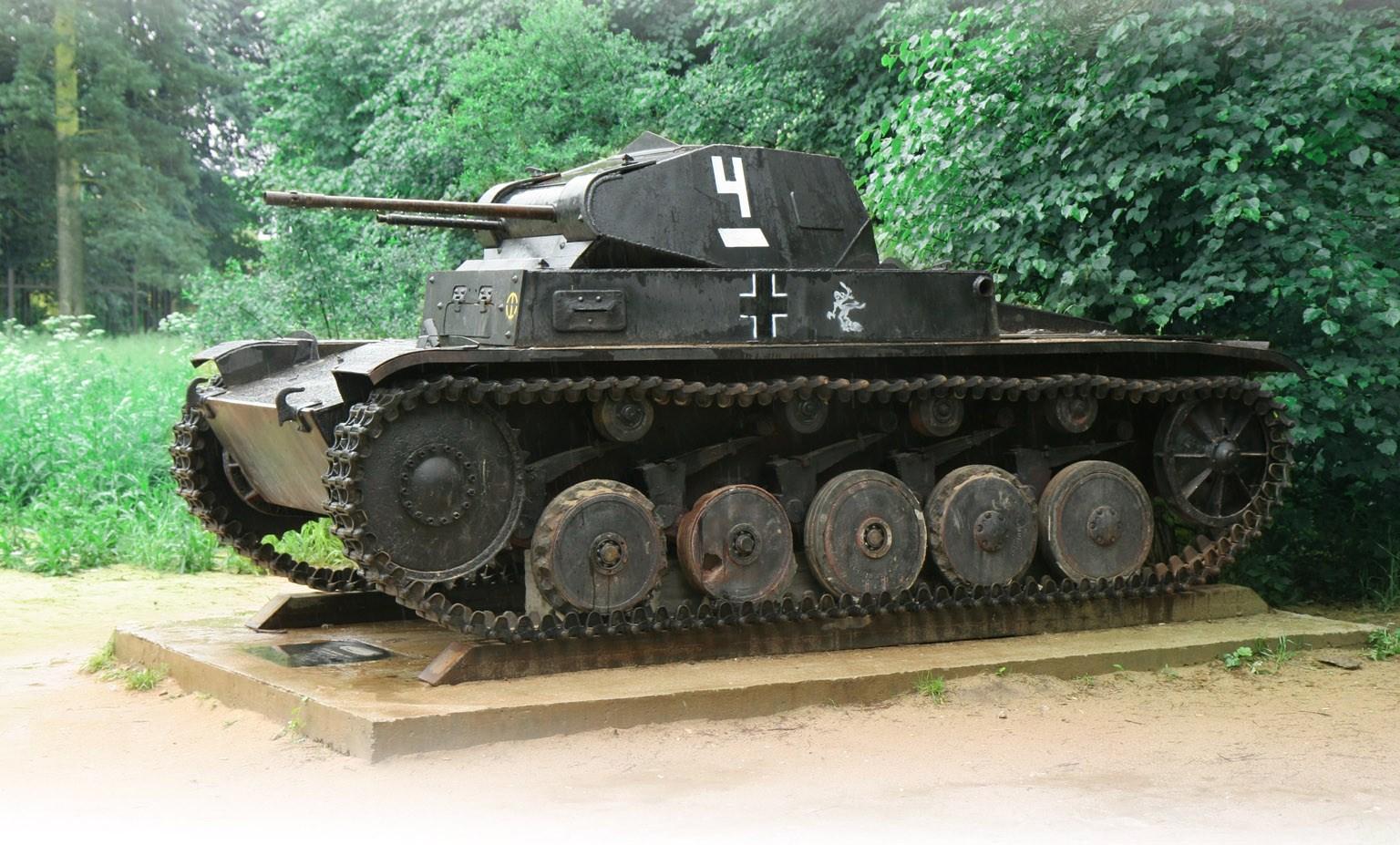 Немецкий лёгкий танк Pz.Kpfw. II