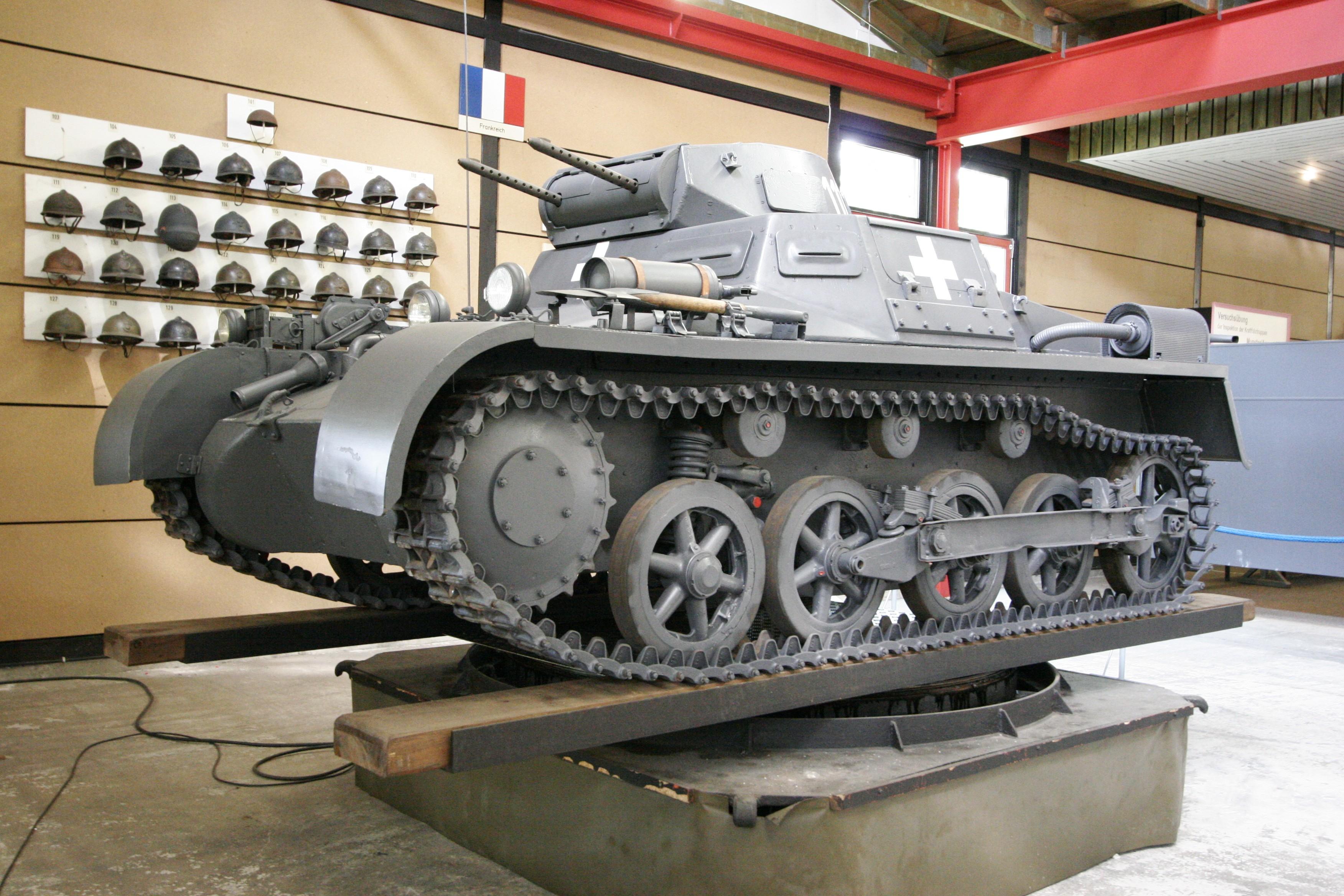 Немецкий лёгкий танк Pz.Kpfw. I