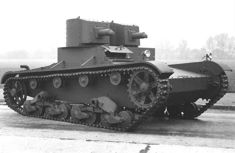 Советский лёгкий танк сопровождения пехоты ТММ-1